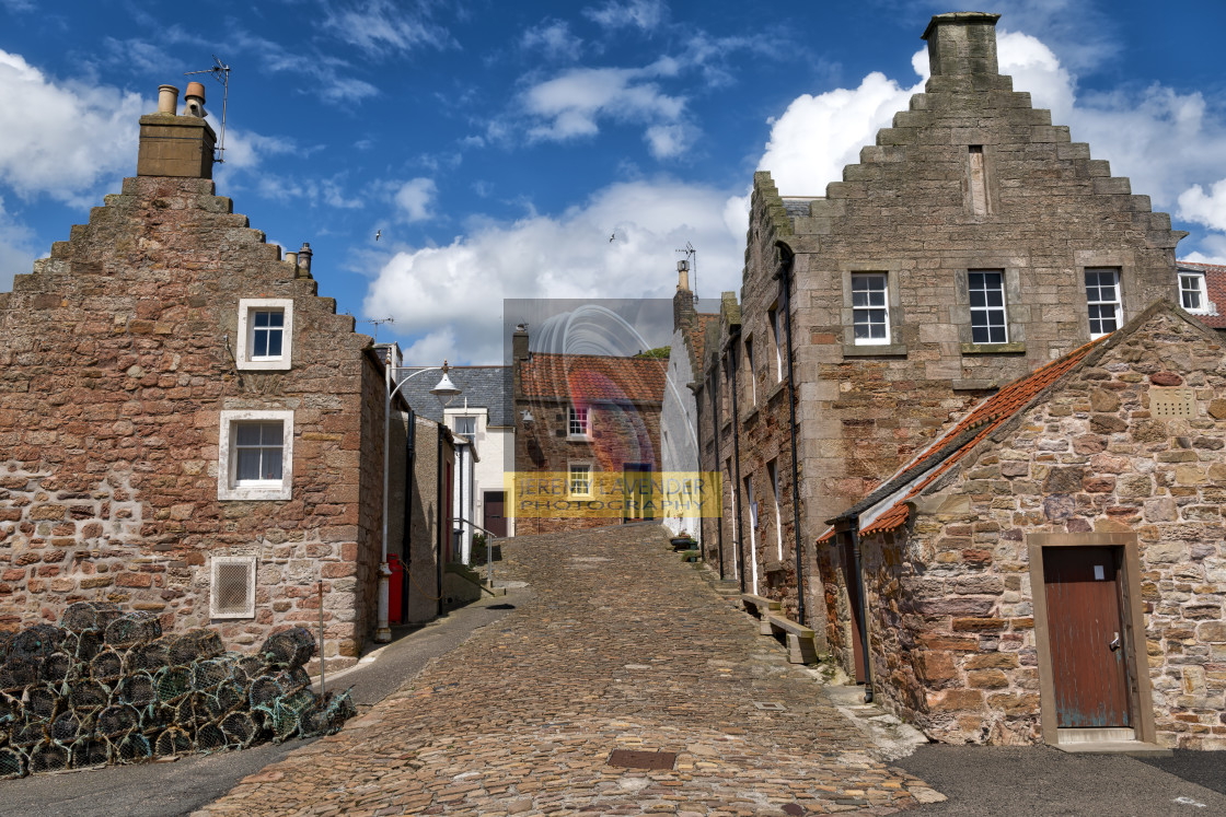"""Crail Harbour"" stock image"