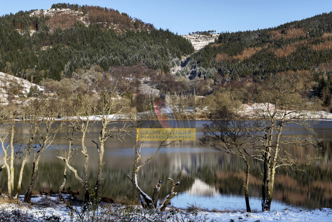 """National Park ""The Trossachs"""" stock image"