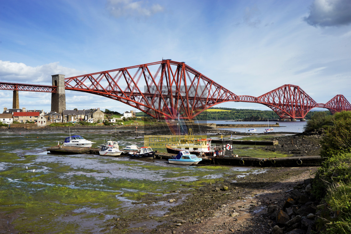 """Firth of Forth Bridge"" stock image"