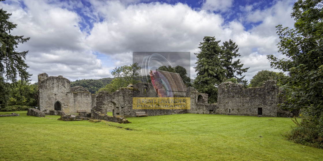 """Inchmahome Priory"" stock image"