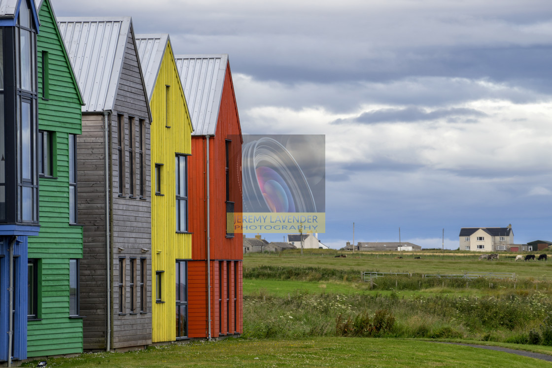 """Hotel in John o' Groats"" stock image"