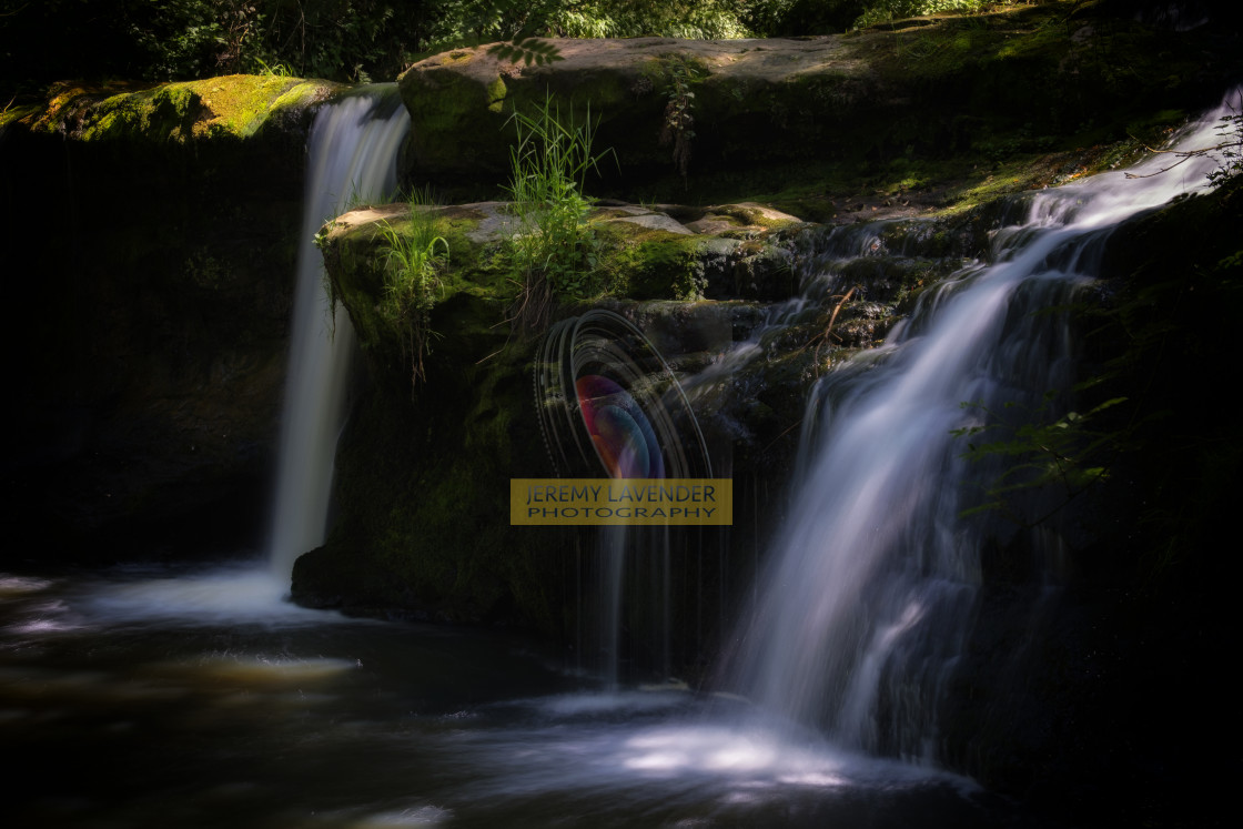 """Lynn Mill Waterfalls"" stock image"