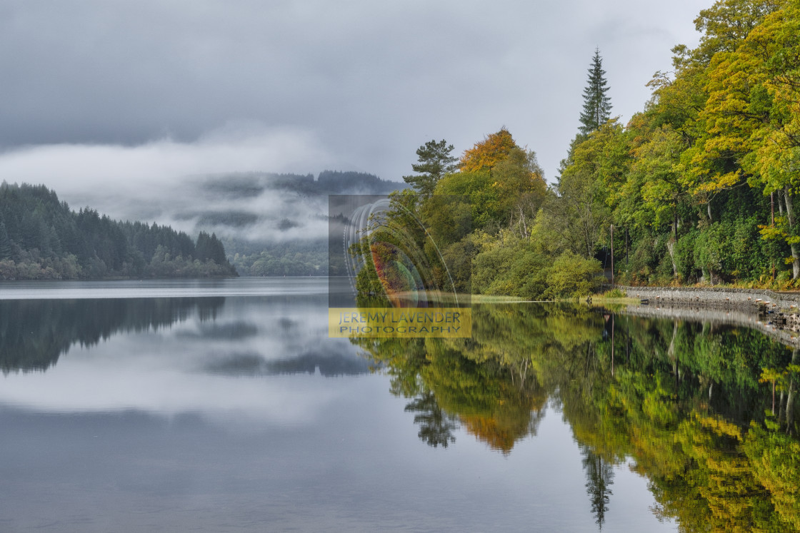 """Loch Ard in Scotland"" stock image"