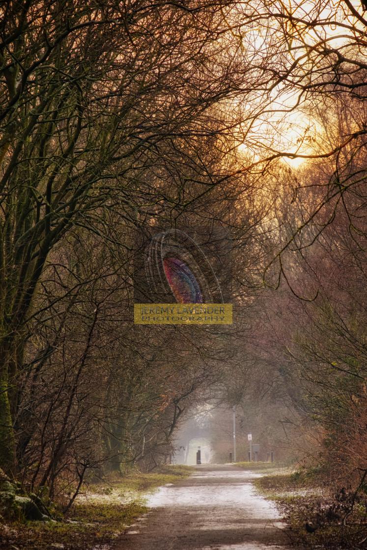 """Winter walk in Scotland"" stock image"