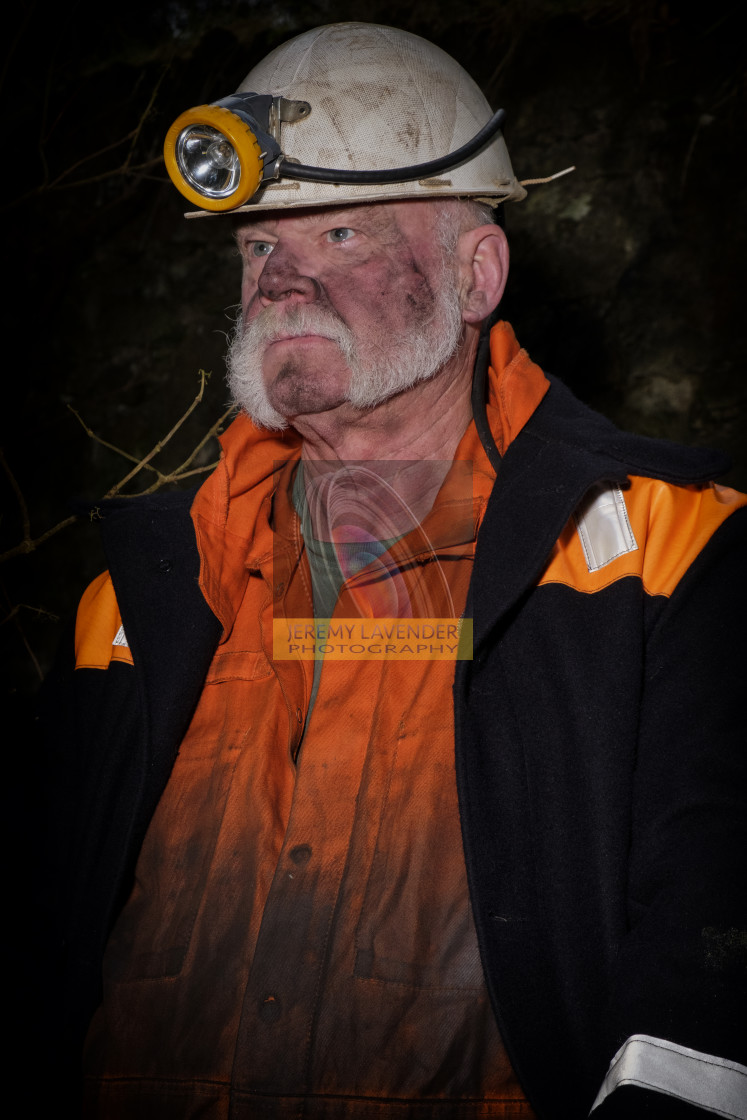 """""""The Miner"""" stock image"""