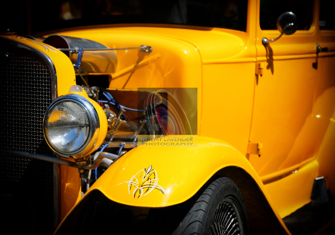 """""""Ford Hot-Rod"""" stock image"""