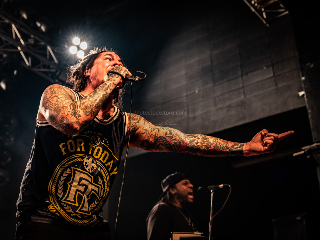 """P.O.D. at Live Music Club (MI) 14-11-2019"" stock image"