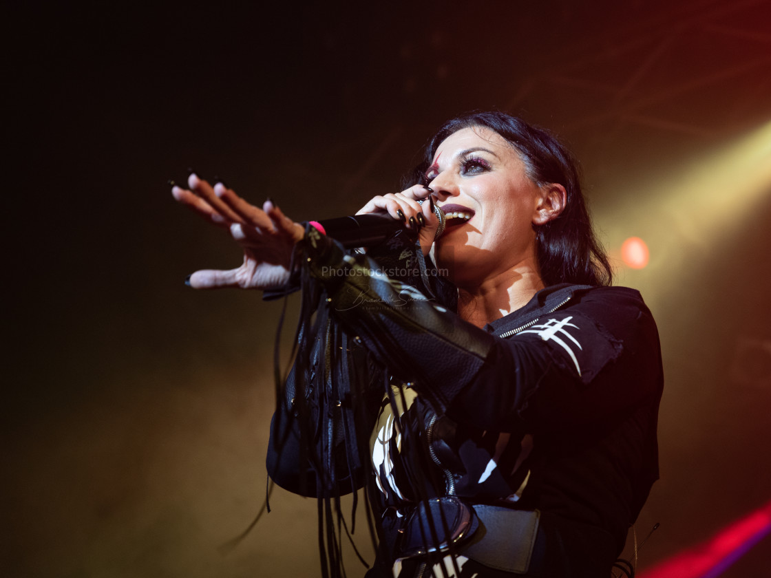 """Lacuna Coil at Live Music Club (MI) 6-11-2019"" stock image"