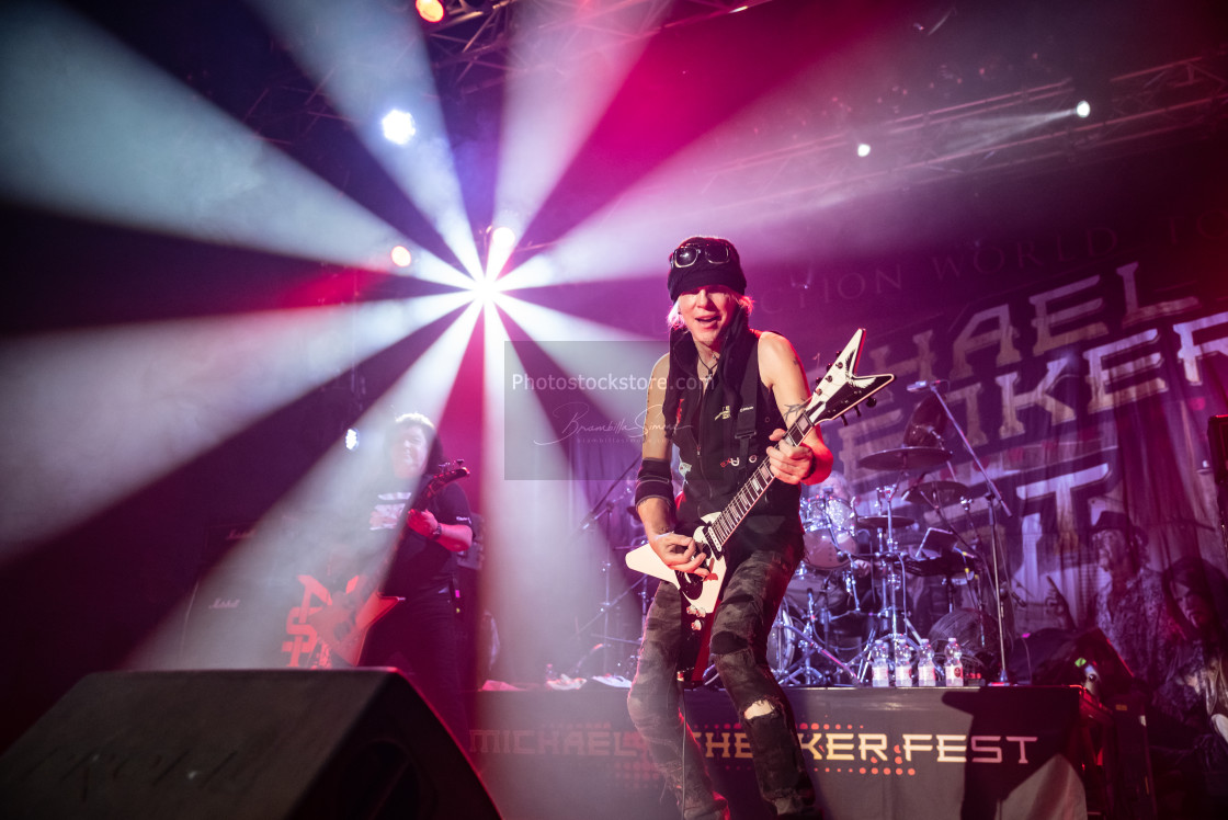 """Michael Schenker Fest at Live Music Club (MI) 30-10-2018"" stock image"