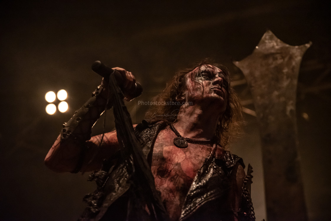 """Watain at Live Music Club (MI) 11-11-2018"" stock image"