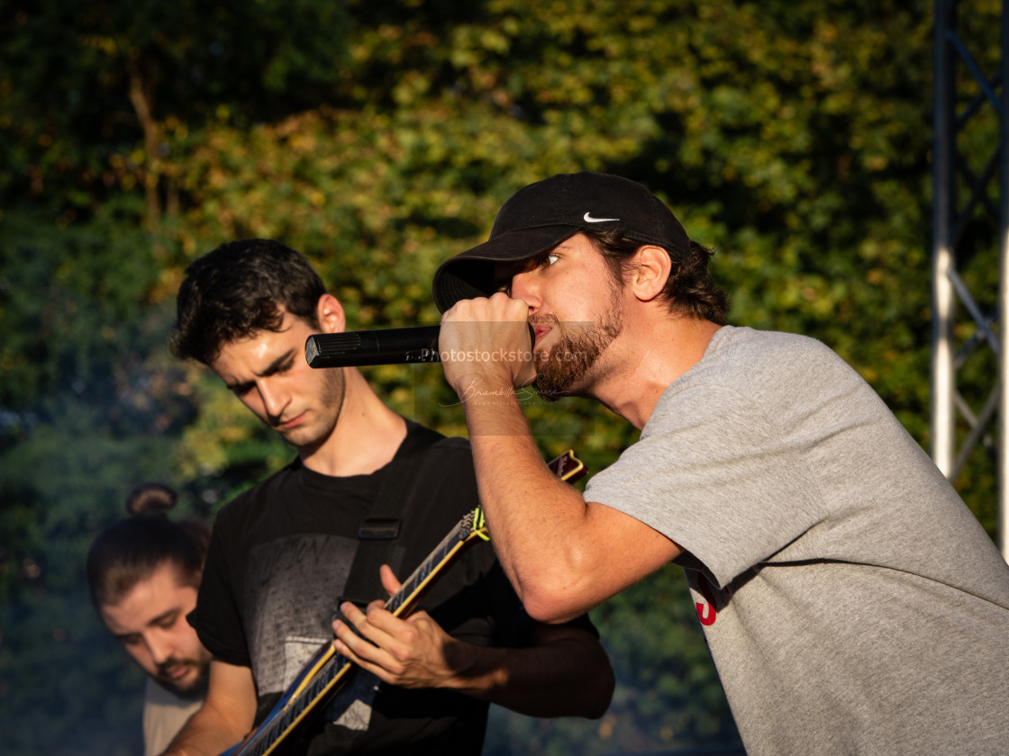 """Waves In Autumn at Pollo Metal Fest (BG) 26-08-2018"" stock image"