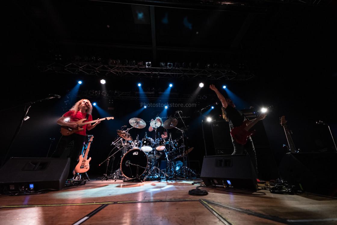 """The Aristocrats at Live Music Club (MI) 16-02-2020"" stock image"