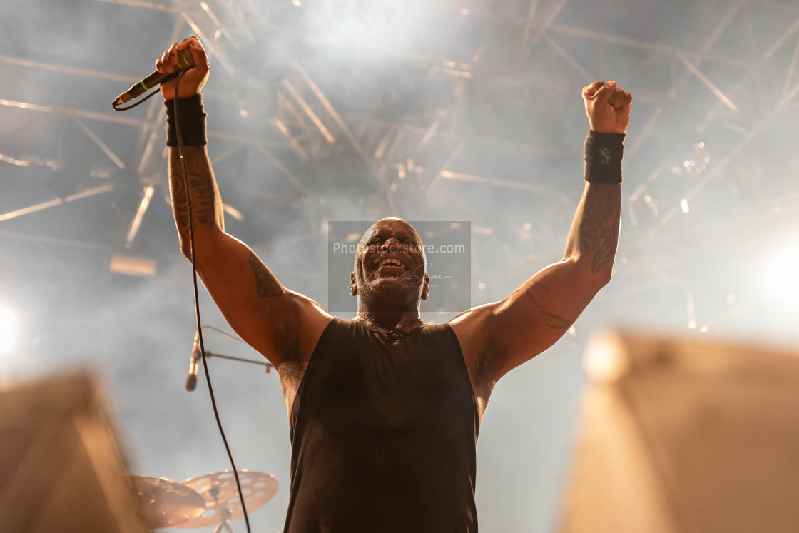 """Sepultura at Metal for Emergency 2018"" stock image"