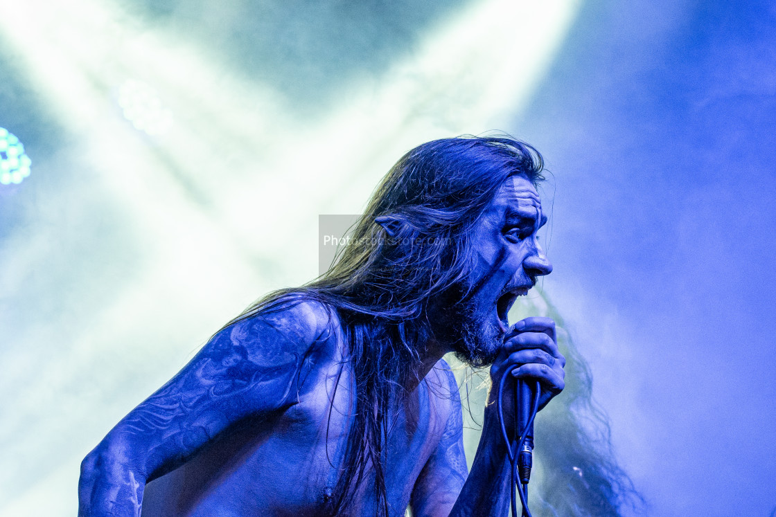 """Finntroll at Insubria Festival (MI) 26-04-2019"" stock image"
