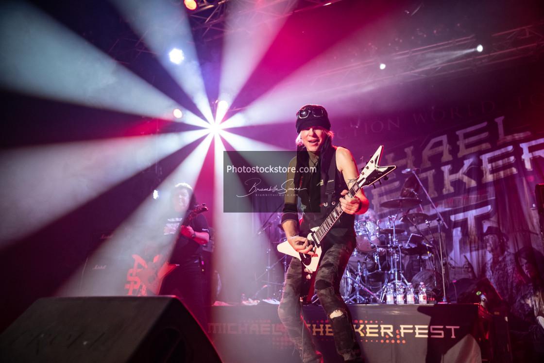 """Michael Schenker Fest at Live Music Club (MI) 30-10-2018"" stock image"