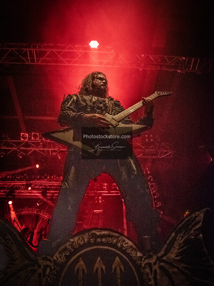 """Watain at Live Music Club (MI) 11-11-2018"" stock image"