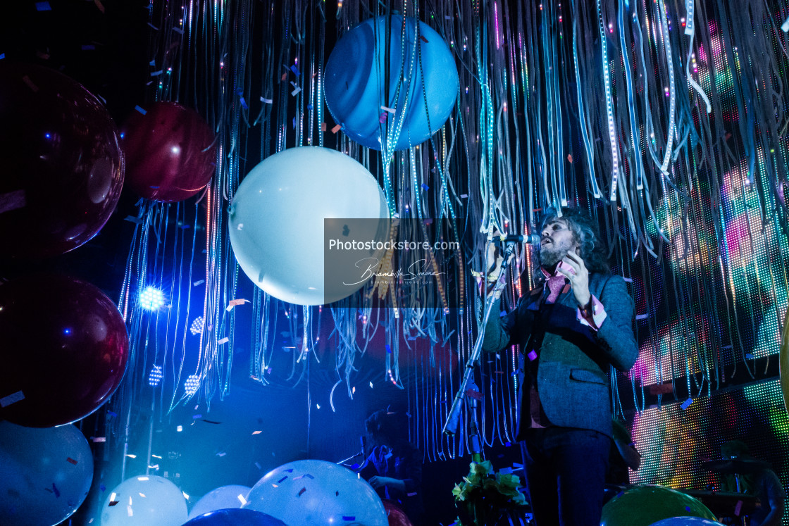 """The Flaming Lips permormance at Alcatraz in Milan"" stock image"