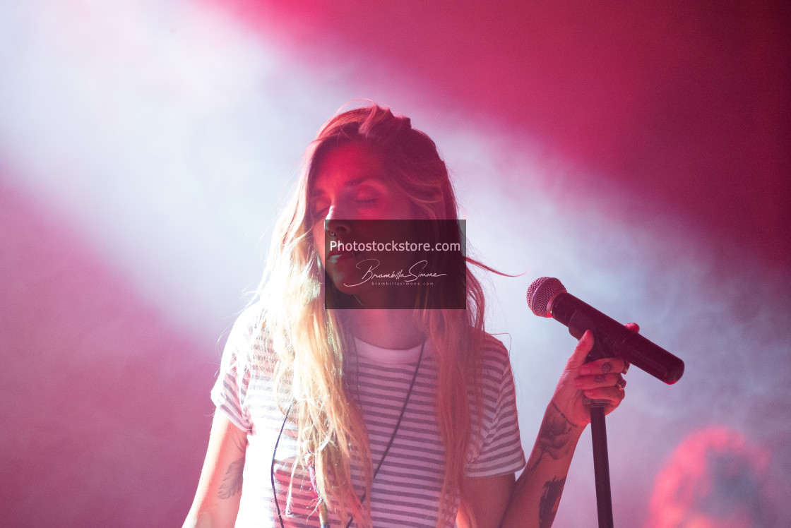 """Ambra Marie live at Ambria Music Festival"" stock image"