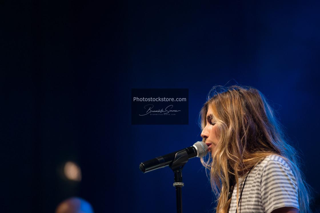 """Ambra Marie live at Ambria Music Festival"" stock image"