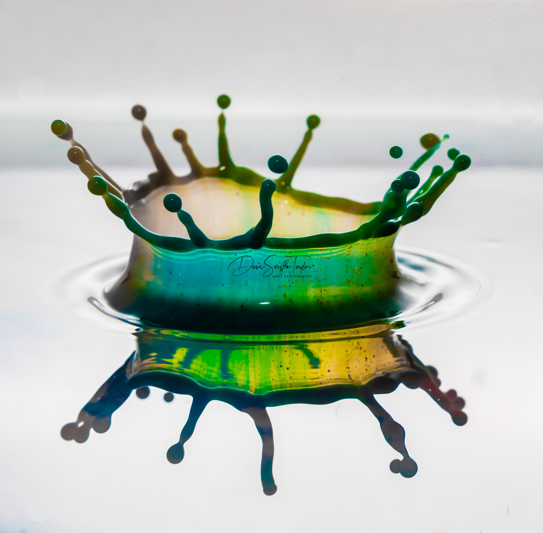 """Multi Coloured Splash"" stock image"