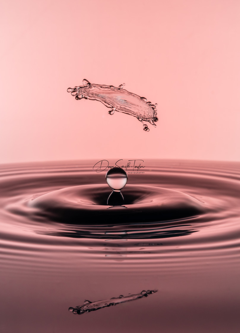 """Water Drop Collisions"" stock image"