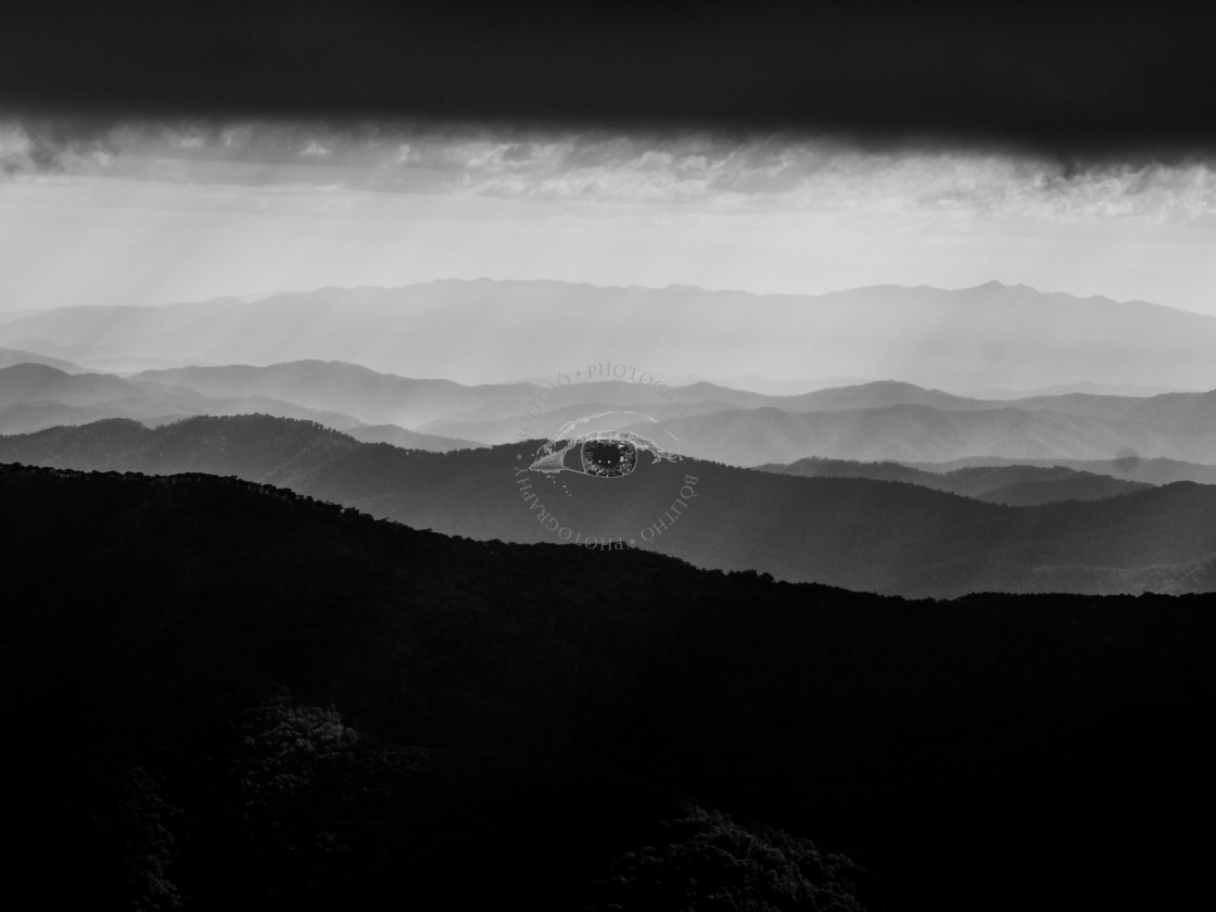 """""""View from Mt Buller 3"""" stock image"""