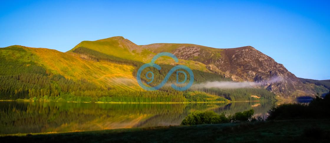 """Llyn Nantlle Uchaf, North Wales"" stock image"