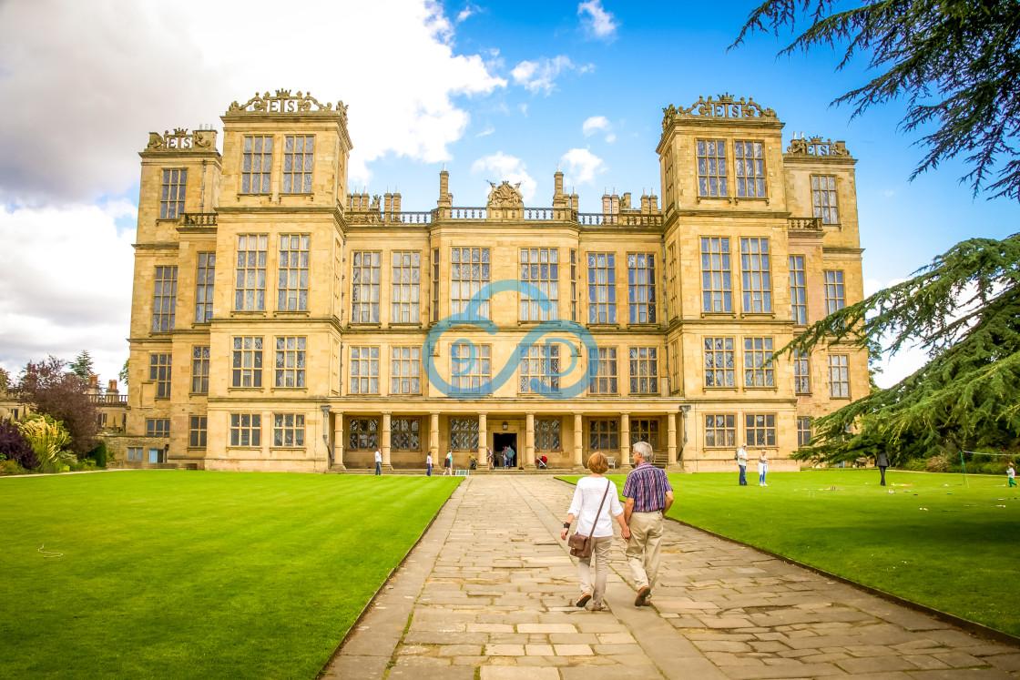 """""""Hardwick Hall"""" stock image"""