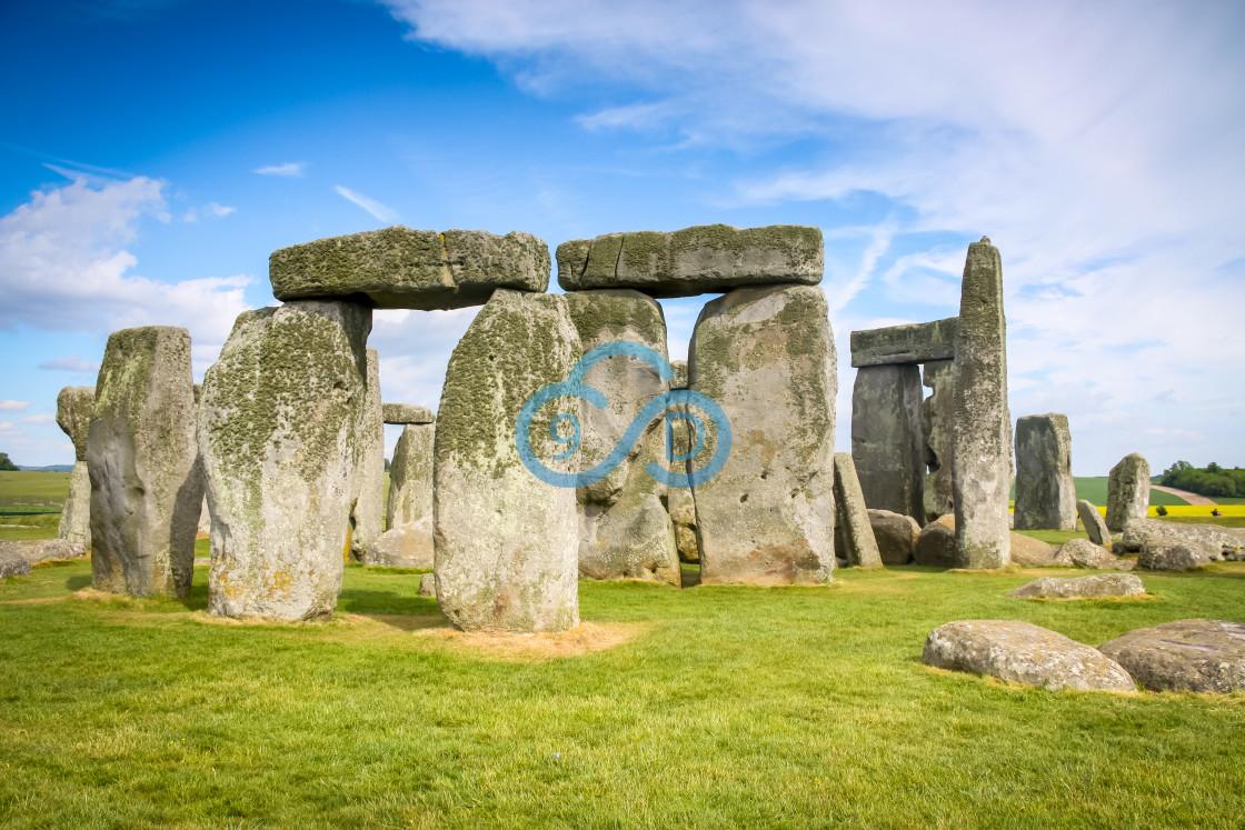 """Stonehenge, Wiltshire"" stock image"