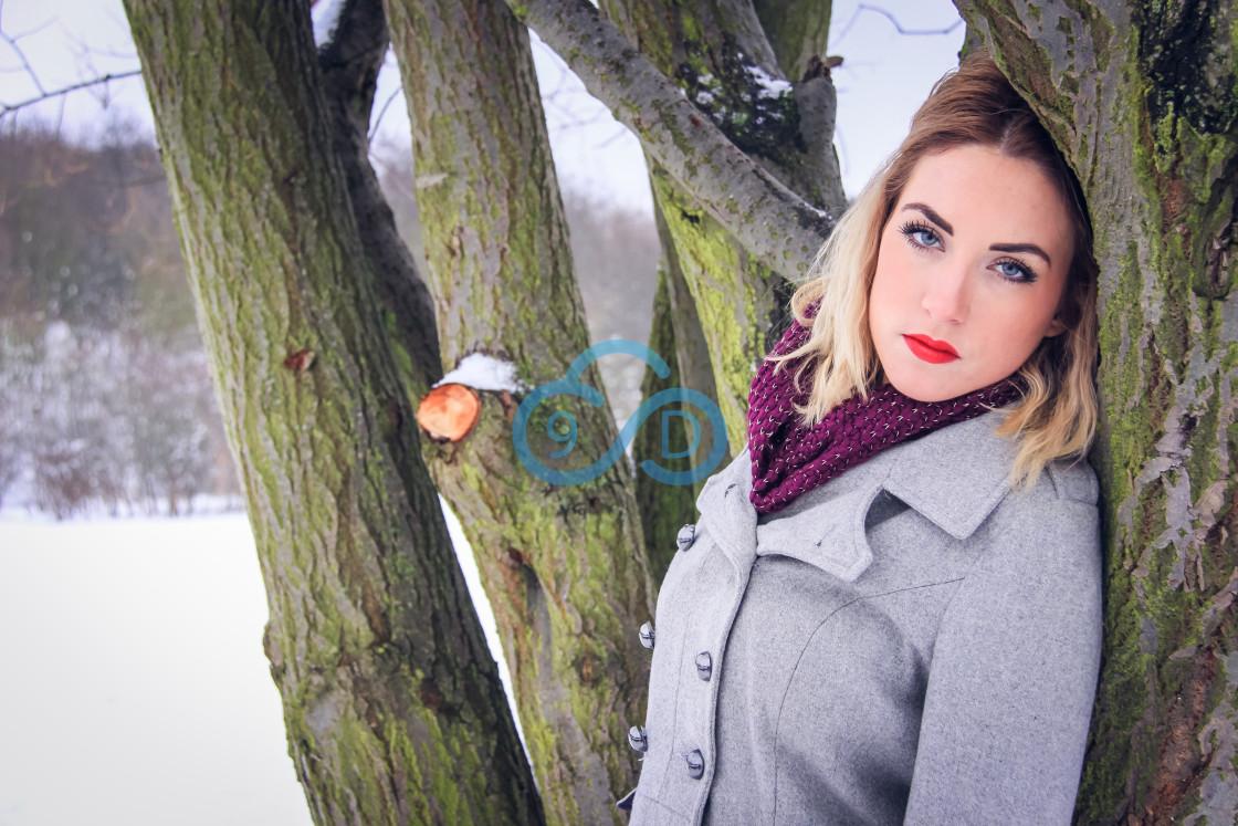 """Winter Girl"" stock image"