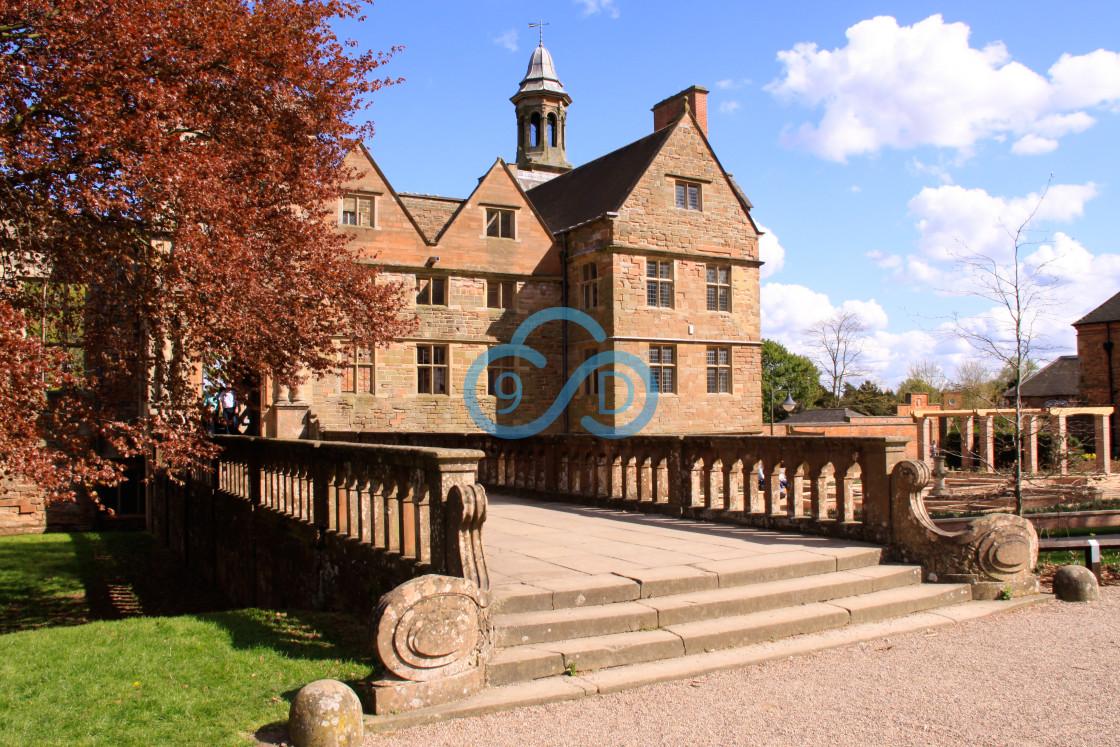 """Rufford Abbey, Nottinghamshire"" stock image"