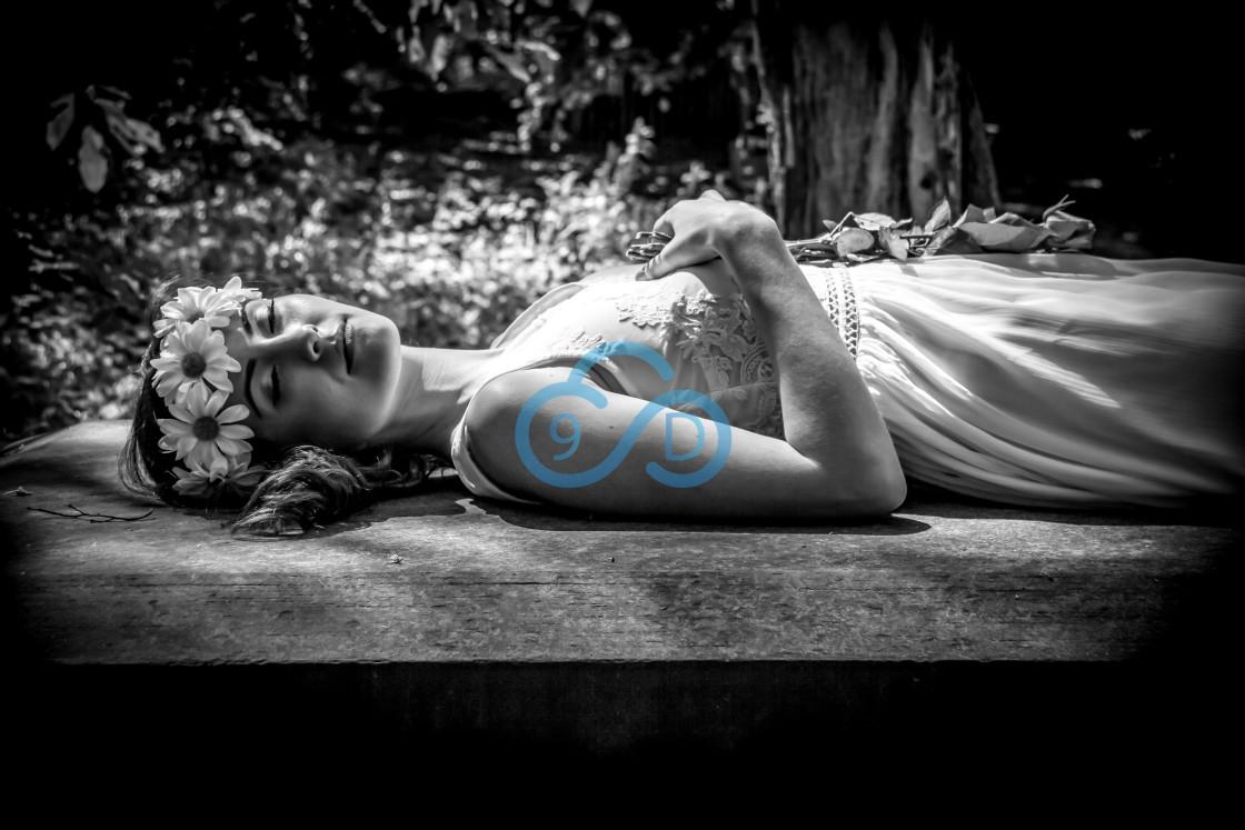 """""""Sleeping Beauty"""" stock image"""