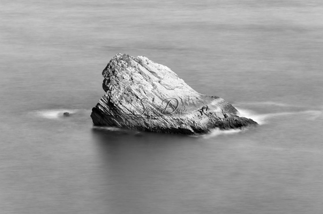 """Shag Rock, Torquay"" stock image"