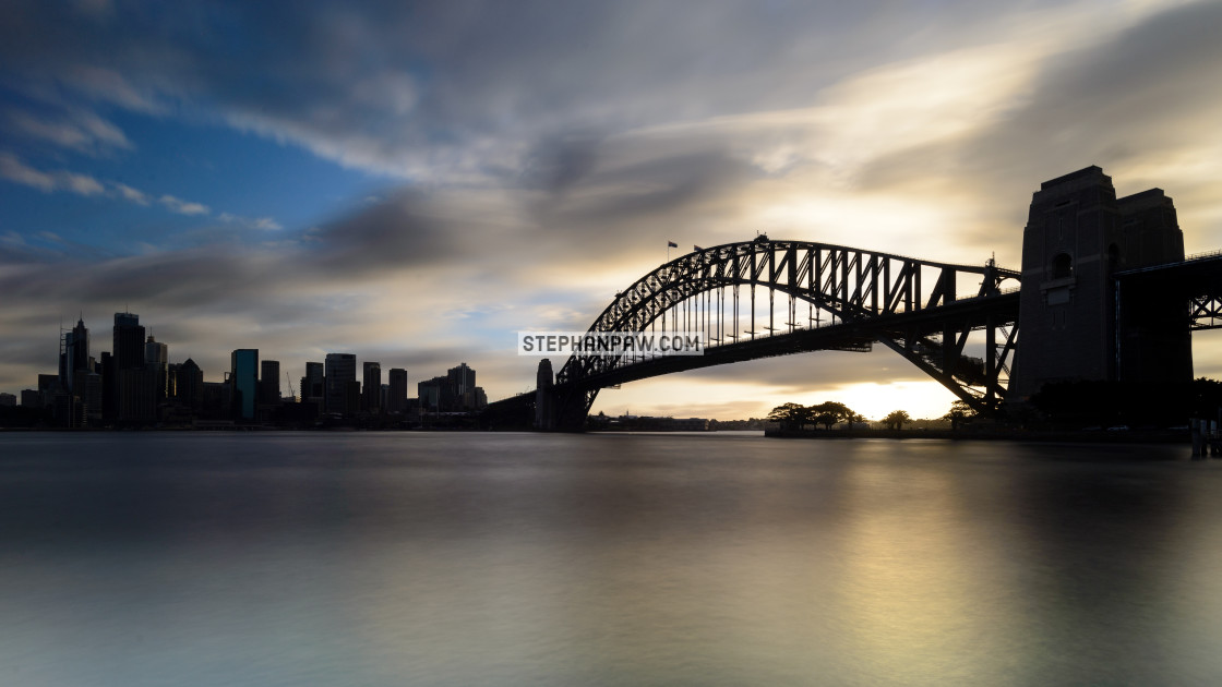 """Sydney Harbour Bridge // Sydney, Australia"" stock image"