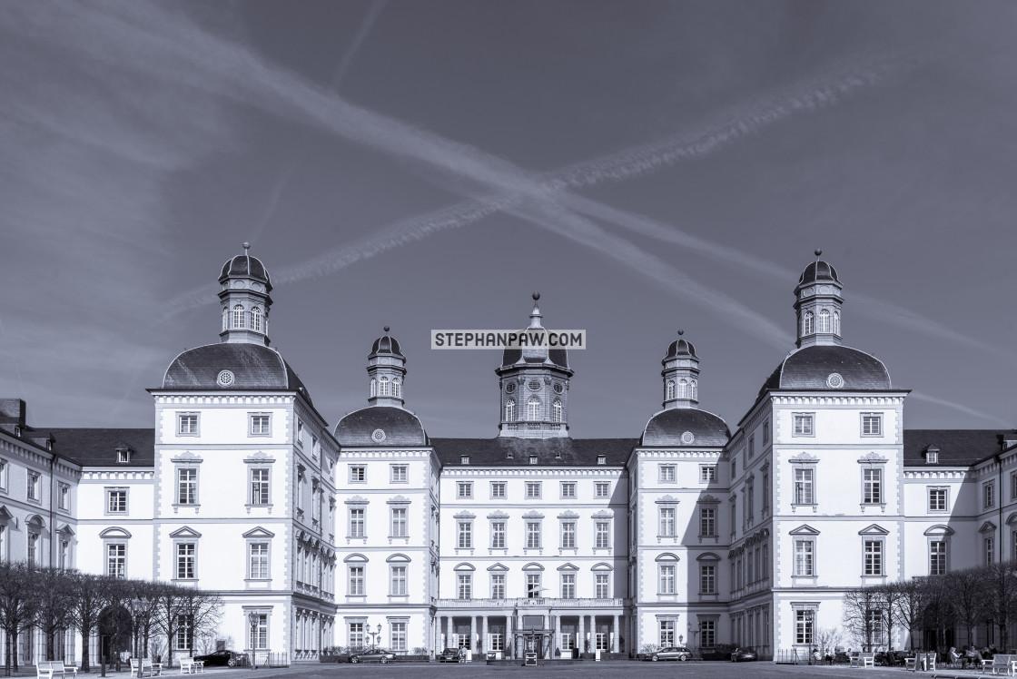 """Schloss Bensberg // Bergisch Gladbach, Germany"" stock image"