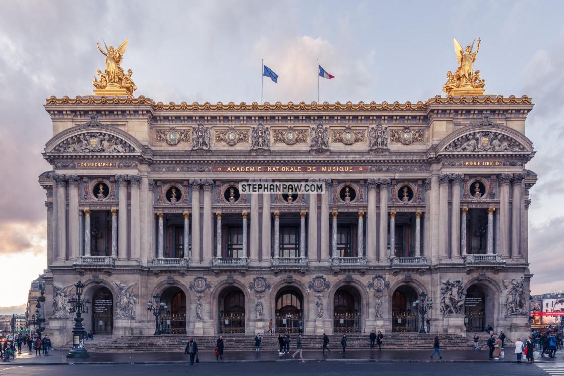 """Palais Garnier // Paris, France"" stock image"