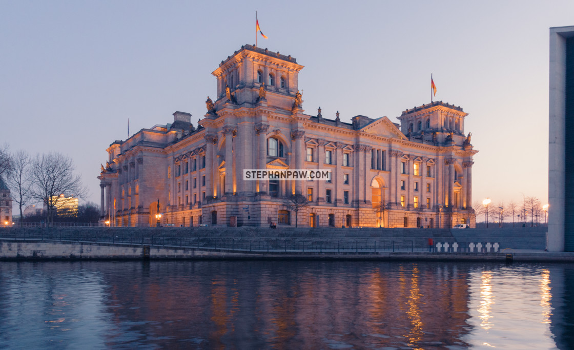 """""""Reichstag building // Berlin, Germany"""" stock image"""
