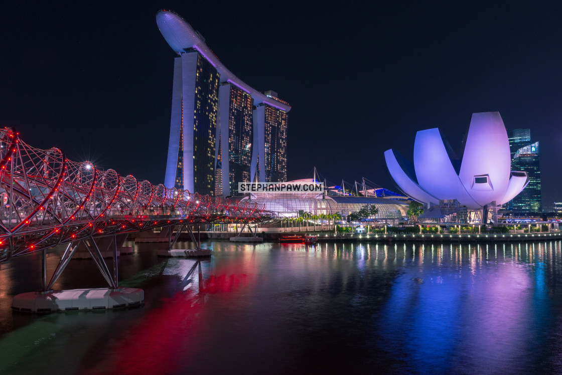 """Marina Bay Sands // Singapore, Singapore"" stock image"