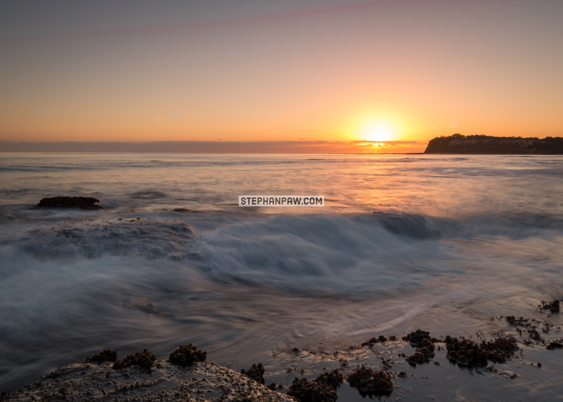 """Long Reef Headland at Sunrise // Sydney, Australia"" stock image"