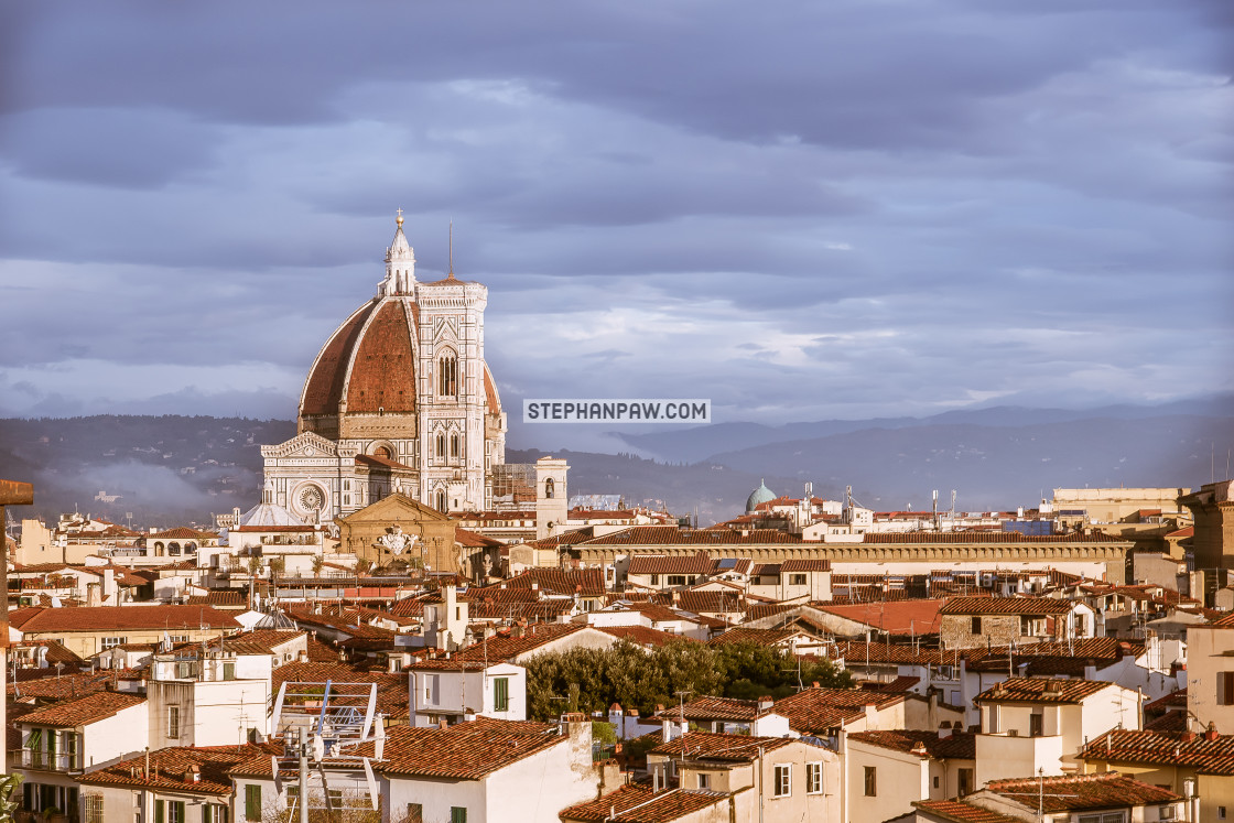 """Florence Cathedral in the Afternoon // Florence, Italy"" stock image"