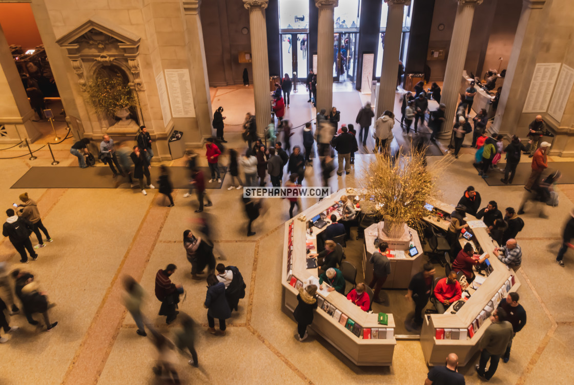 """""""Busy day at the Met // Manhattan, New York"""" stock image"""
