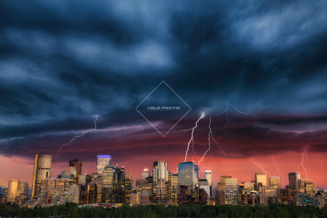 """City Storm"" stock image"