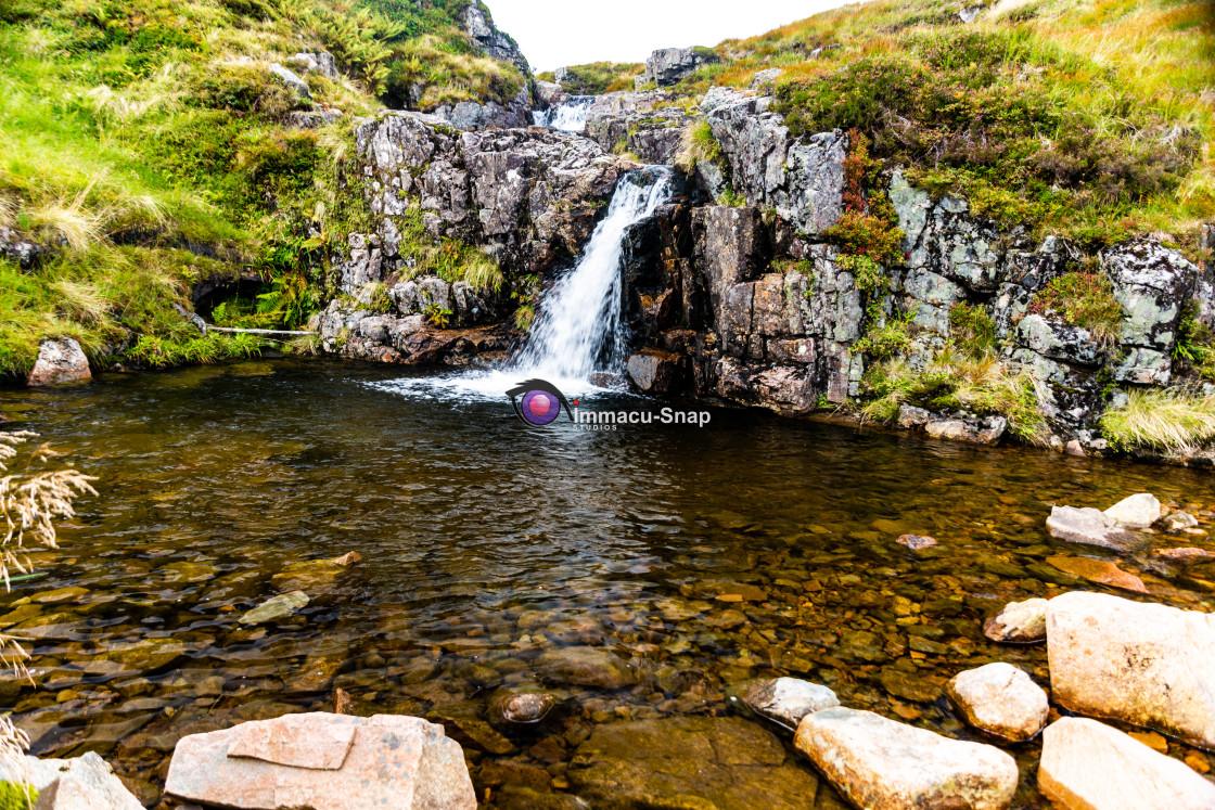 """Mountain Waters"" stock image"