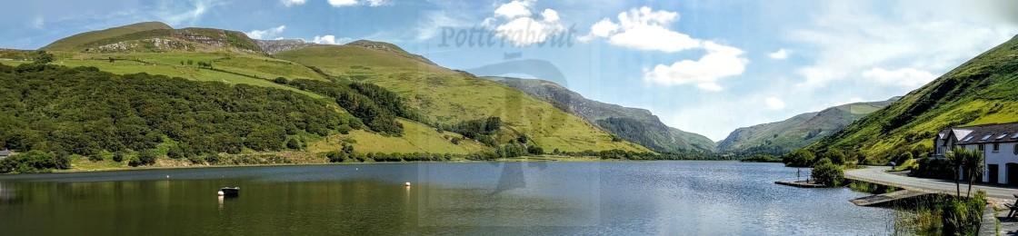 """Llyn (Lake) Mwyngil"" stock image"