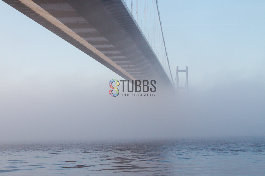 """The Humber Bridge"" stock image"