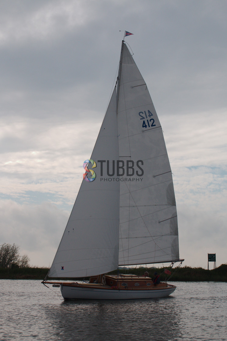 """Sailboat"" stock image"