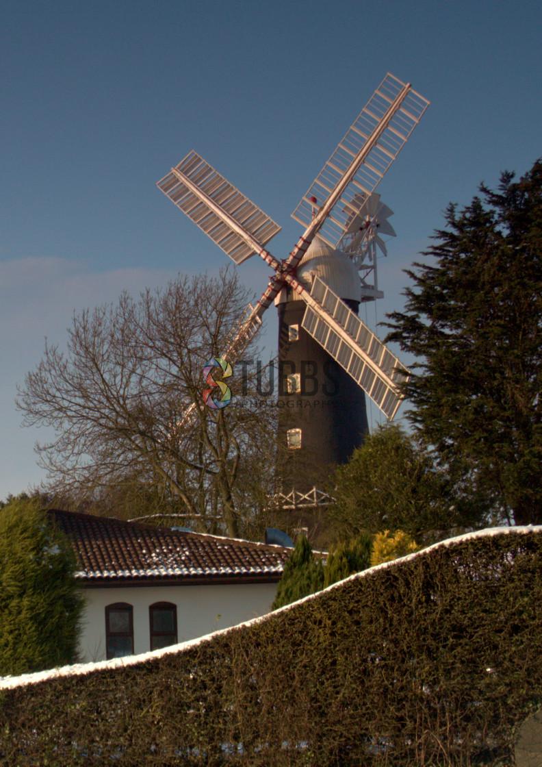 """""""Skidby Windmill"""" stock image"""