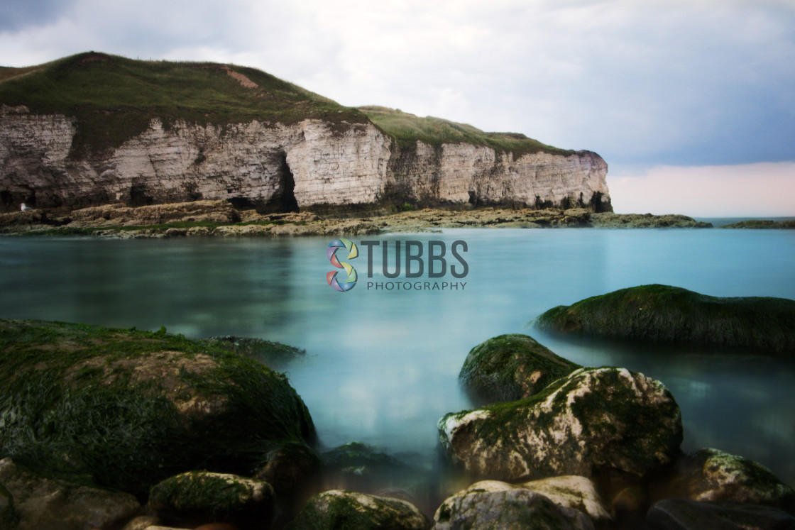"""North Landing Beach (Flamborough)"" stock image"