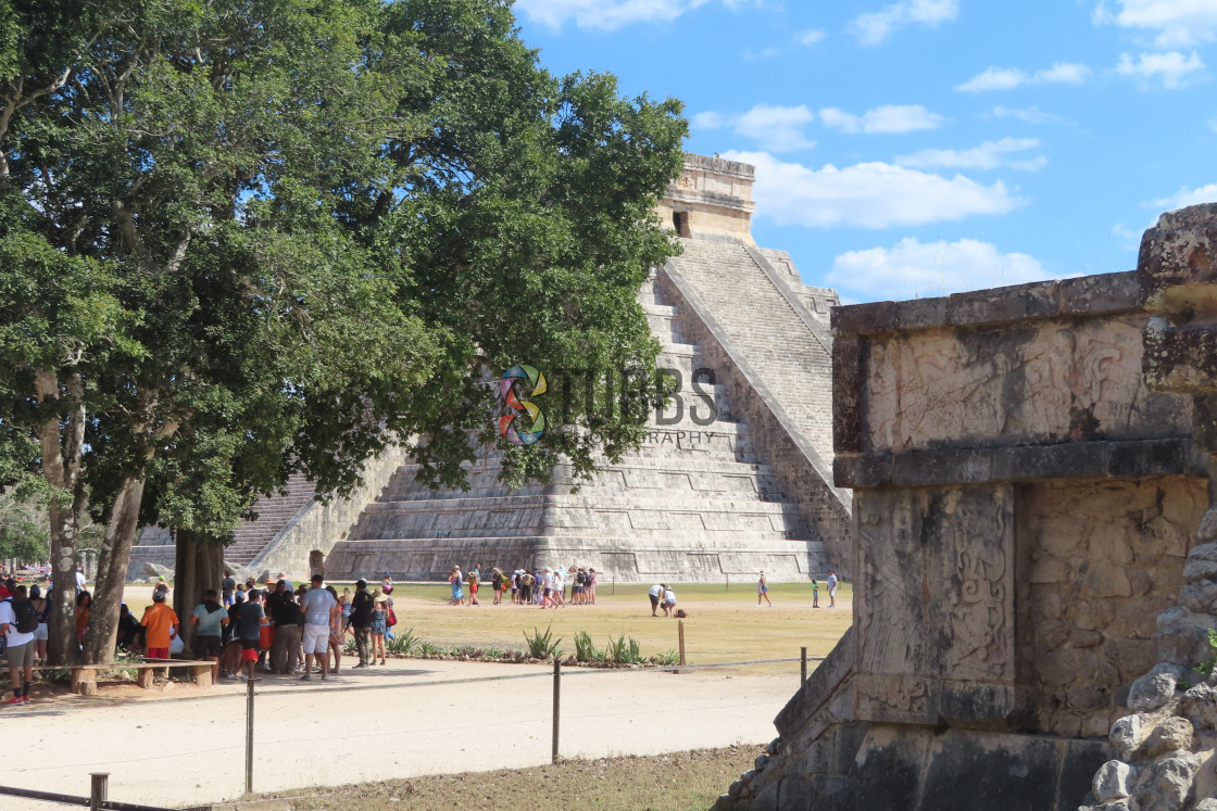 """Kukulcan temple"" stock image"