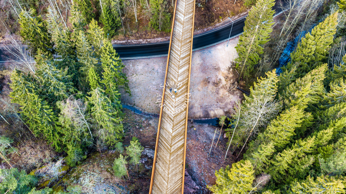 """""""The Bridge"""" stock image"""